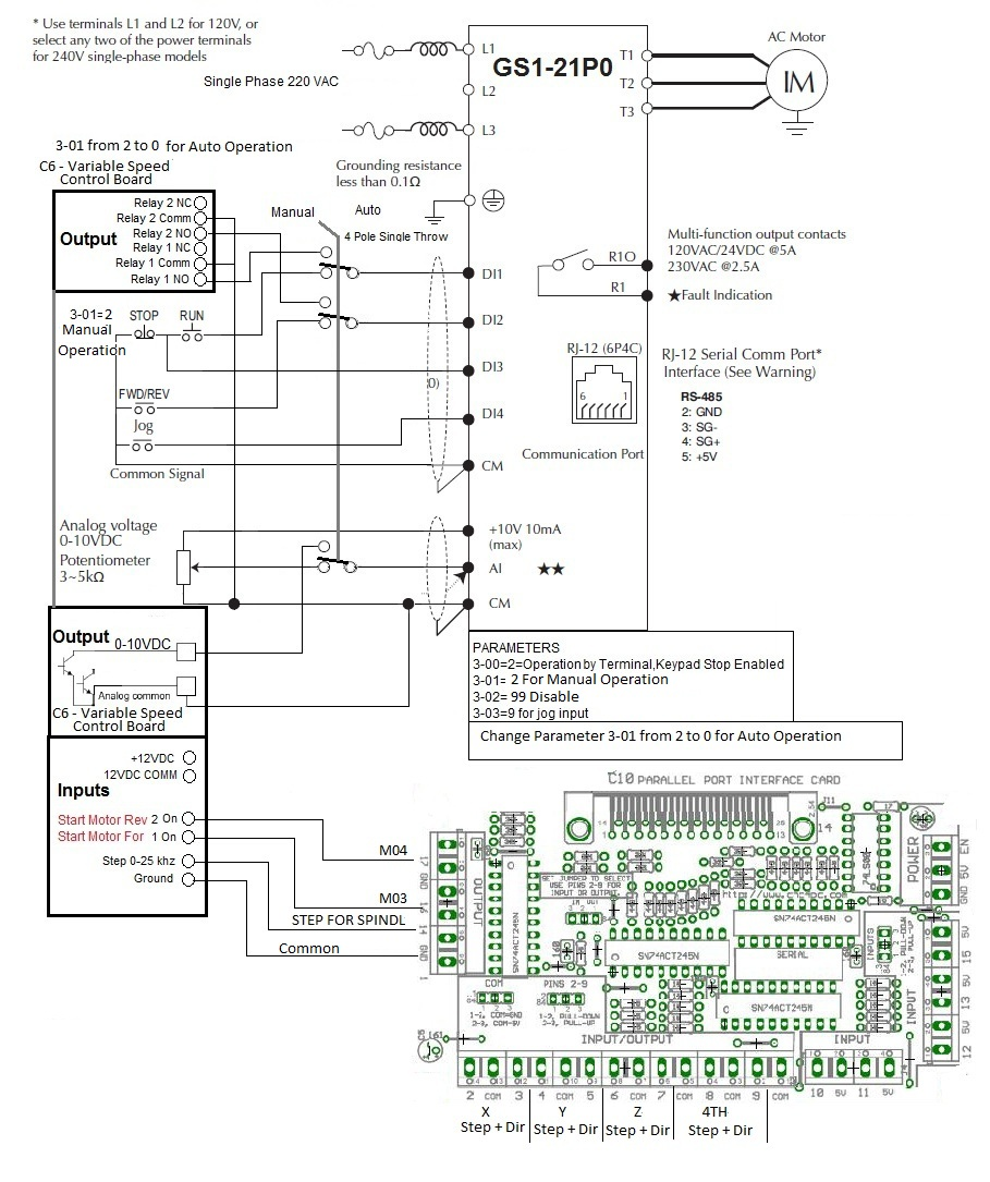GS1_C6_C10 high torque stepper motor, stepper motor, driver, stepper motor vfd control wiring diagram at gsmx.co