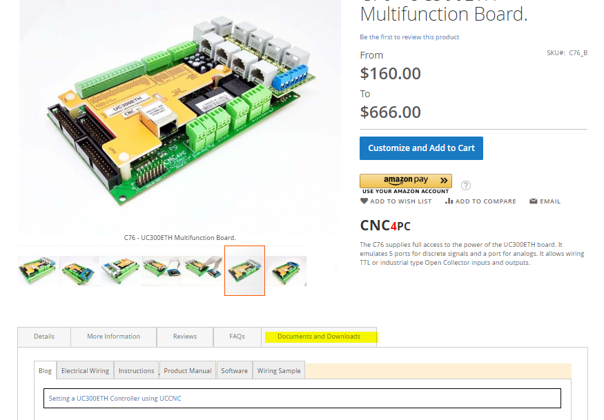 Where to find the manuals of the boards.